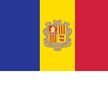 Флаг Андорры