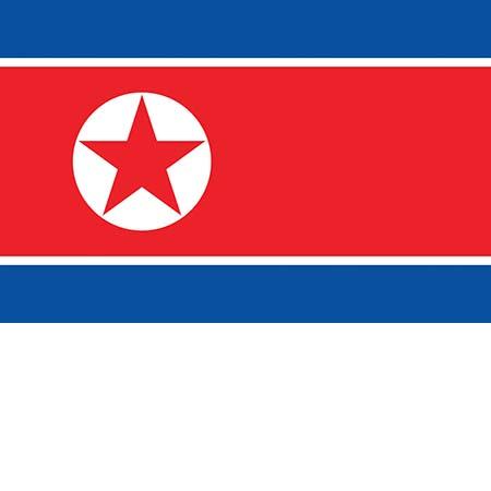 Флаг Северной Кореи КНДР