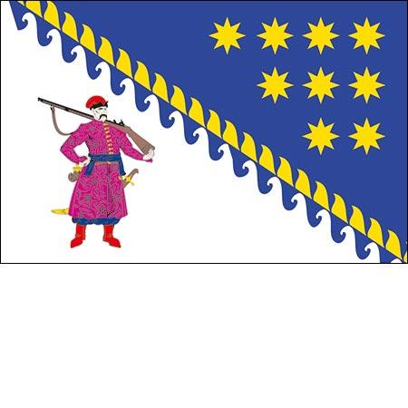 Флаг Днепропетровской области
