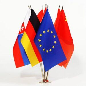 Флаги настольные