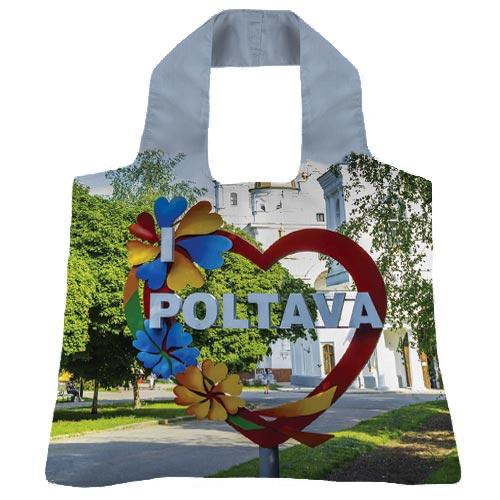 """Эко-сумка """"Я Люблю Полтаву"""""""