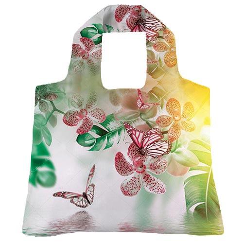 """Эко-сумка """"Орхидея"""""""