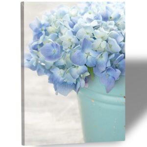 "Картина на холсте ""Голубые цветы"""