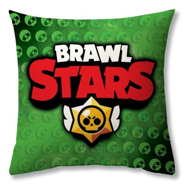 "Подушка ""BRAWL STARS Leon"""