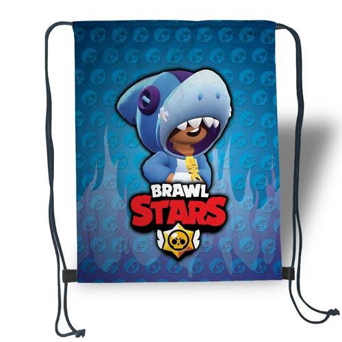 """Сумка для обуви """"BRAWL STARS Leon Акула"""""""