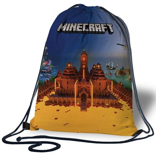 "Сумка для обуви ""Вогняний Minecraft"""