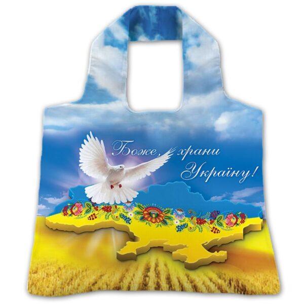 """Эко-сумка """"Боже, храни Україну!"""""""