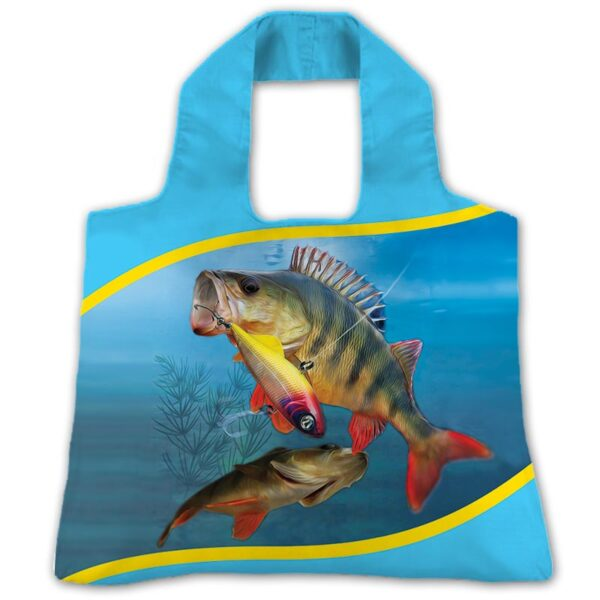 "Эко-сумка ""Рыбалка окунь"""
