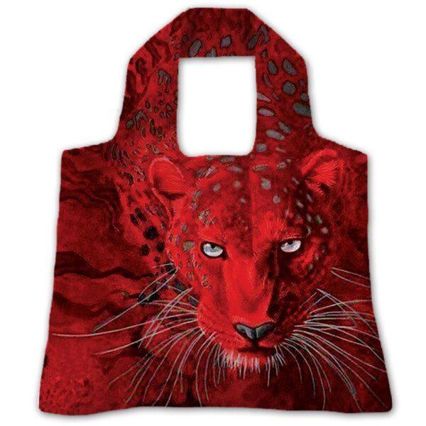 "Эко-сумка ""Красный ягуар"""