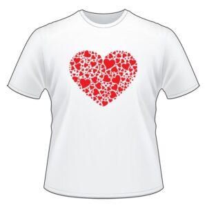 """Футболка """"Сердце из сердец"""""""
