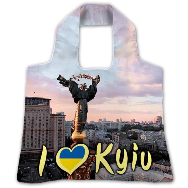 """Еко-сумка """"Я Люблю Київ"""""""