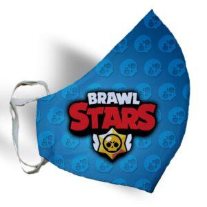 """Маска """"BRAWL STARS Leon"""""""