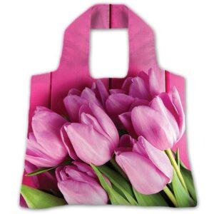 "Еко-сумка ""Рожеві тюльпани"""