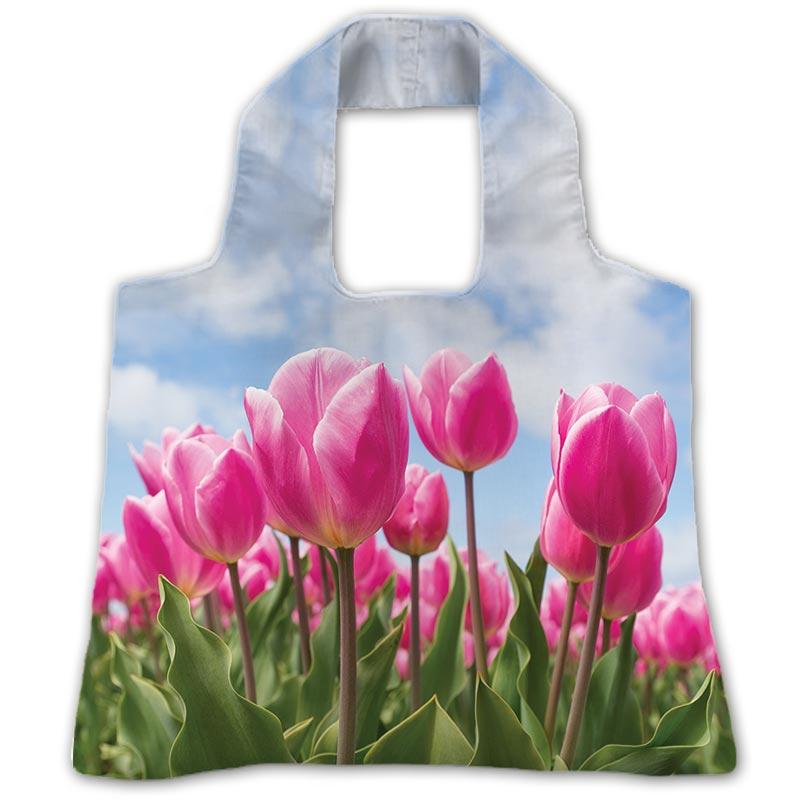 """Еко-сумка """"Рожевий тюльпан"""""""
