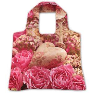 "Еко-сумка ""Серце в трояндах"""