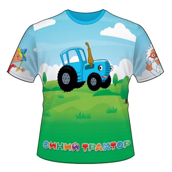 """Футболка """"Синій трактор"""""""