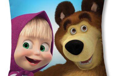 """Подушка """"Маша і Ведмідь"""""""