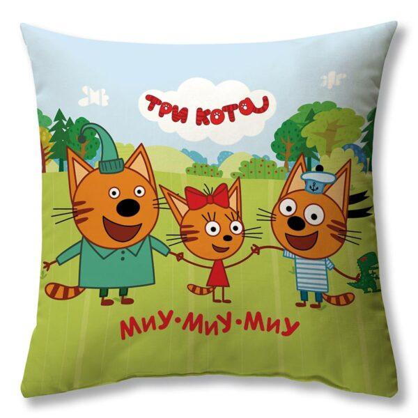 """Подушка """"Три кота"""""""
