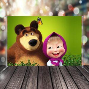 """Фото-зона """"Маша і Ведмідь"""""""