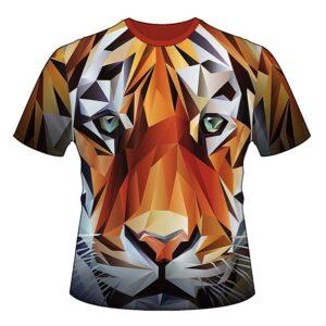 "Футболка ""Тигр"" (3D-futbolka-0067)"